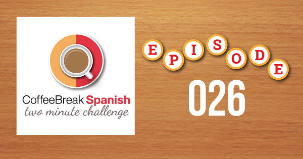 Spanish Challenge 26