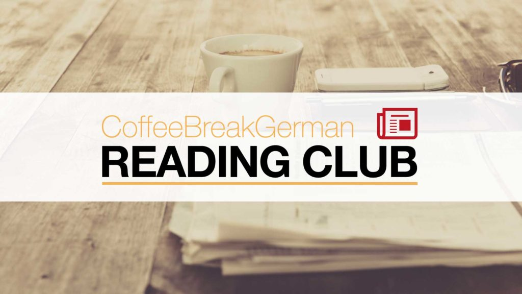 German Reading Club logo