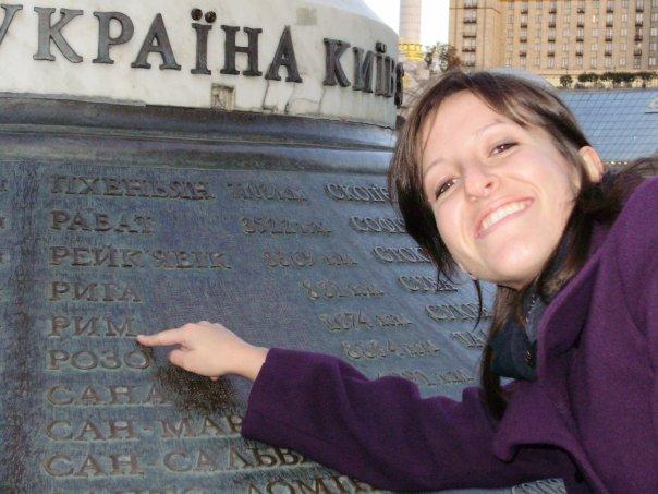 Francesca in Ukraine